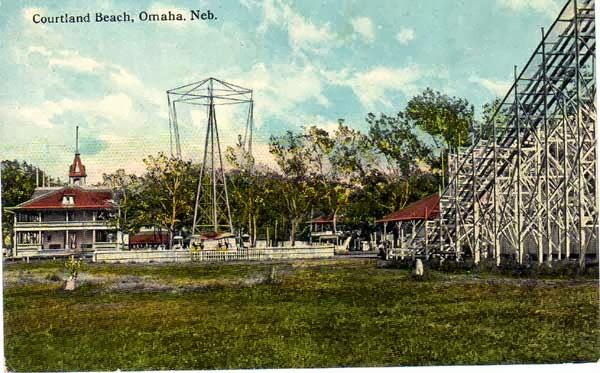 Courtland Beach Rollercoaster Omaha