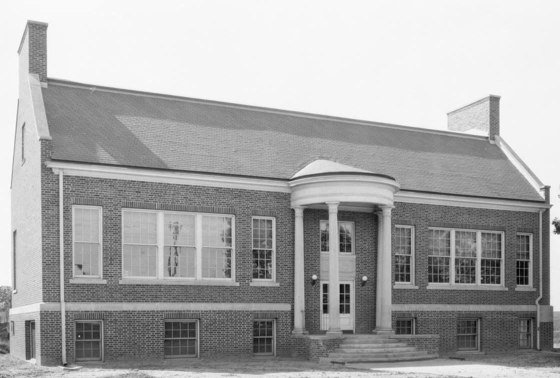 Courtland School, 9th and Ave K, Carter Lake, Iowa