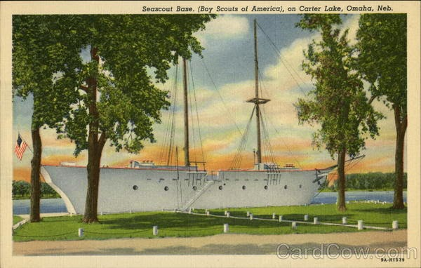 Seascout Base Boy Scouts of America on Carter Lake