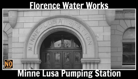 Florence Water Works Minne Lusa Pumping Station in North Omaha, Nebraska