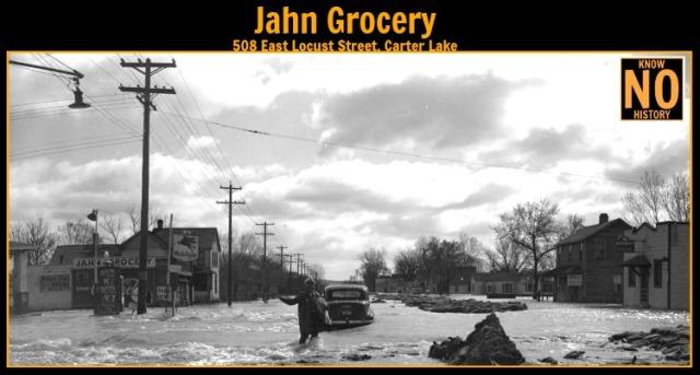 Jahn Grocery, Carter Lake, Iowa
