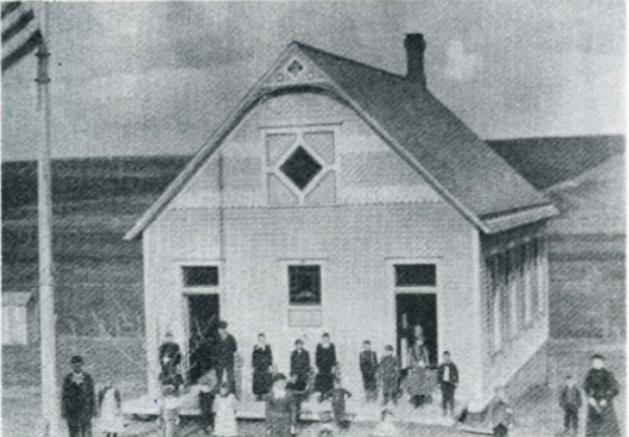 Springville School, N. 60th and Girard Streets, North Omaha, Nebraska