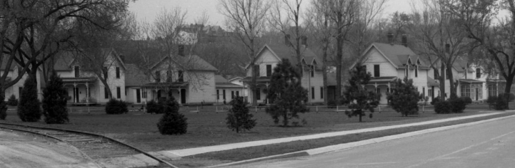 Houses at the Florence Water Works Omaha Nebraska