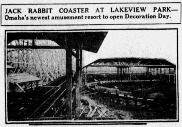 Lakeview Amusement Park, N. 17th and Ave Q, Carter Lake, IA