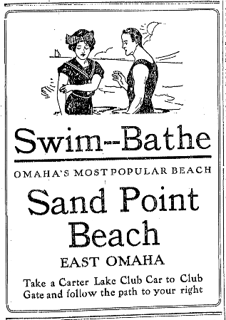 Sand Point Beach, East Omaha, Iowa
