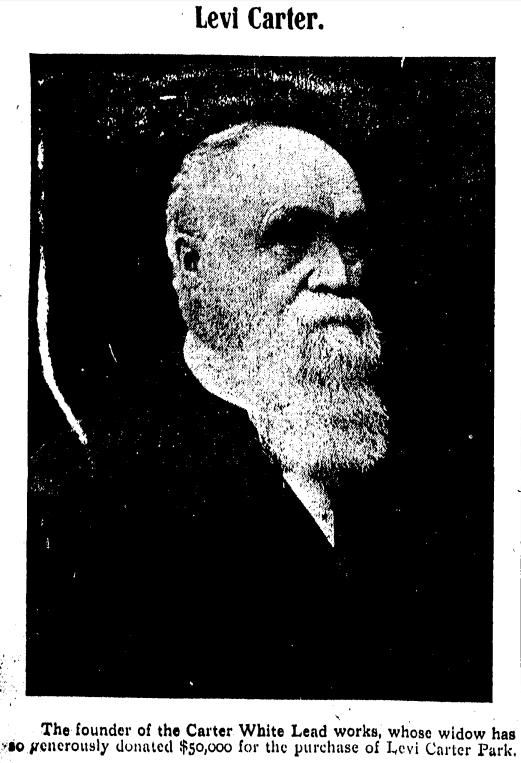 Levi Carter (1830-1903) of Omaha, Nebraska