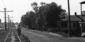 Locust Street in Carter Lake 1924
