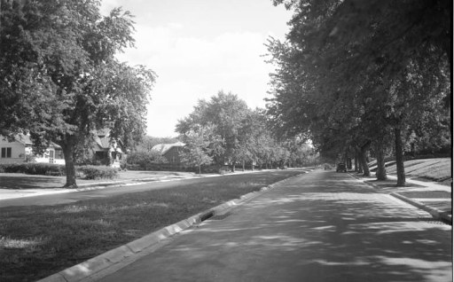 Florence Boulevard, North Omaha, Nebraska in the 1920s.