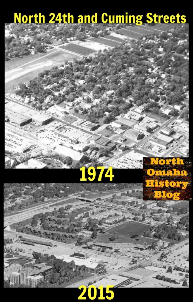 Then and Now in Kellom Heights in 1974 and 2015