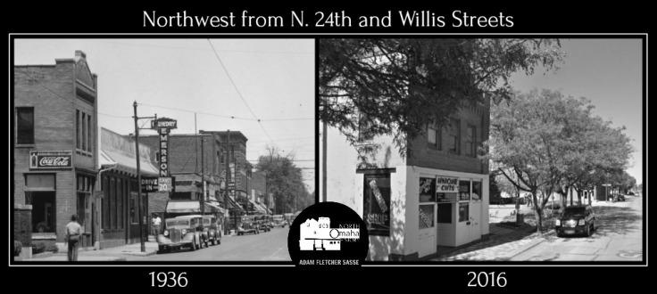 24th and Willis comparison 1936 2016