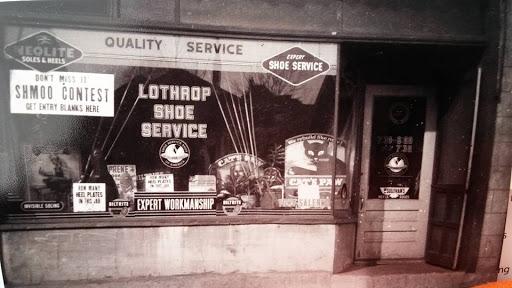 Lothrop Shoe Service, 3124 North 24th Street, North Omaha, Nebraska