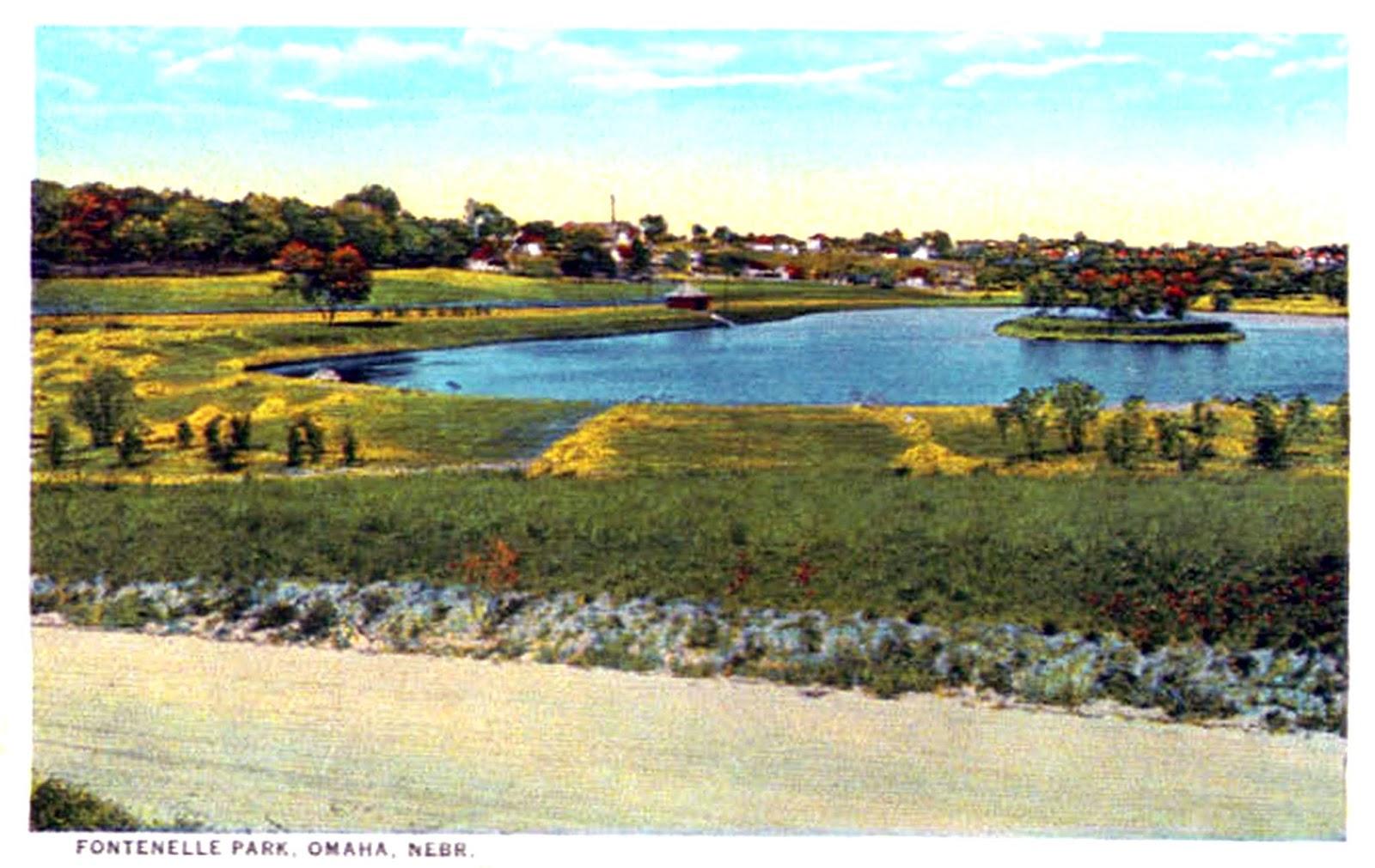 Fontenelle Park Lagoon, North Omaha, Nebraska