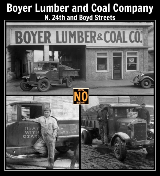 Boyer Lumber and Coal Company, N. 24th and Boyd Streets, North Omaha, Nebraska