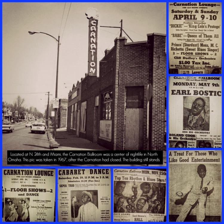 Carnation Ballroom, N. 24th and Miami Streets, North Omaha, Nebraska
