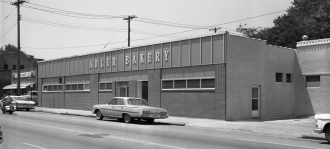 This is a photo of the Adler Bakery that was at 1722 North 24th Street.