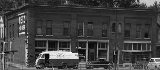 24th and Paul Street, Omaha Nebraska, 1950s