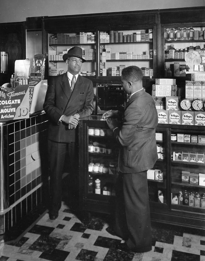 Robbins Drug Store, 2306 North 24th Street, North Omaha, Nebraska