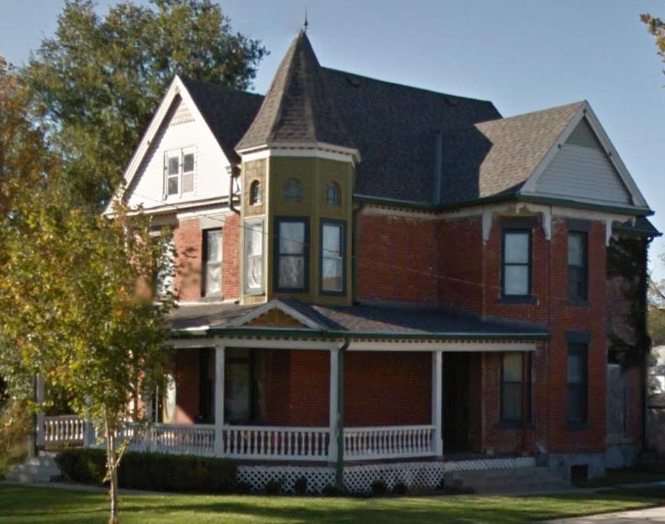 Van Cort House, 2210 Wirt Street, Kountze Place, North Omaha, Nebraska