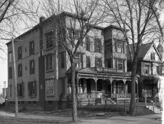 The Old Peoples Home was at 2214 Wirt Street in the Kountze Place neighborhood.