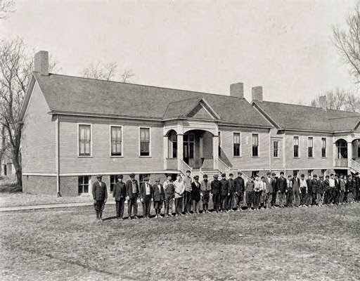 Fort Street School for Incorrigible Boys, North 30th and Browne Avenue, North Omaha, Nebraska