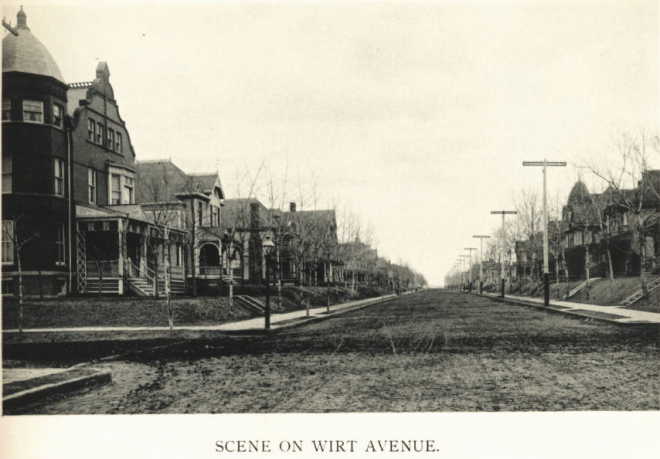 Wirt Street, North Omaha, Nebraska