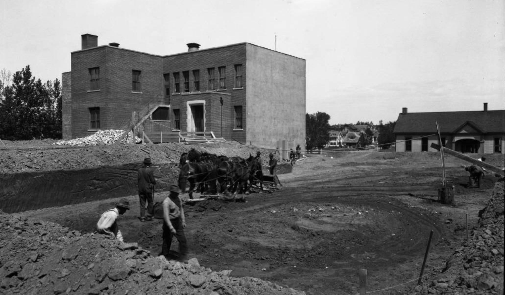 Minne Lusa School, North Omaha, Nebraska