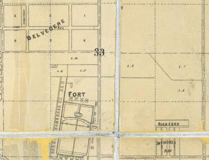 Rockford and Seymour's Addition, Miller Park neighborhood, North Omaha, Nebraska