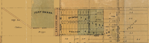 McEntee's and Taylors Additions, Miller Park neighborhood, North Omaha, Nebraska