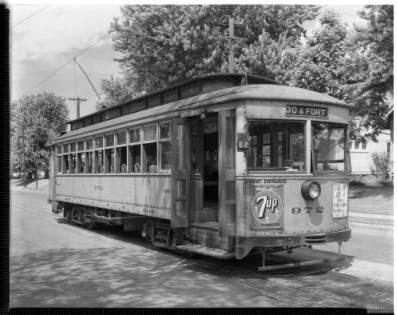 Streetcar 972 to N 30th and Fort Street North Omaha Nebraska