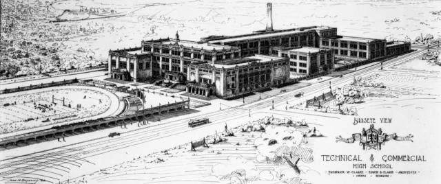 Technical and Commercial High School, North Omaha, Nebraska