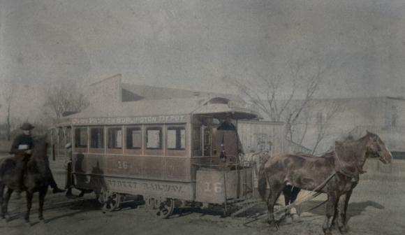 Omaha Horse-Drawn Street Railway Company, North Omaha, Nebraska
