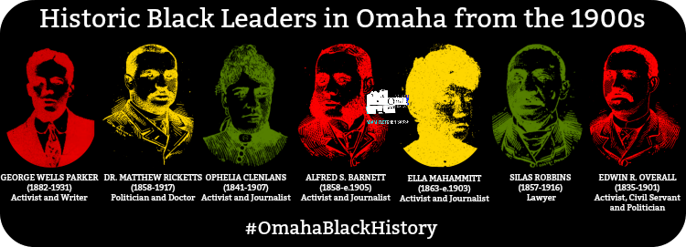Historic Black leaders in Omaha, Nebraska, from the 1900s