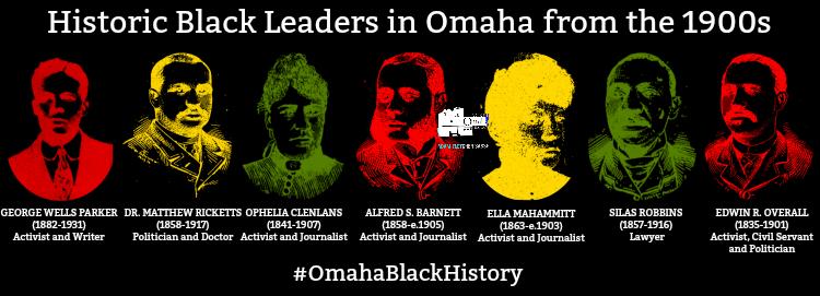Historic Black leaders in Omaha, Nebraska, from the 1900s
