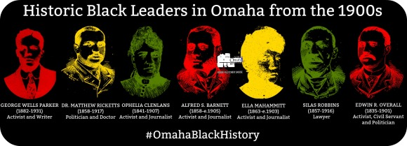Historic Black leaders in Omaha from the 1900s