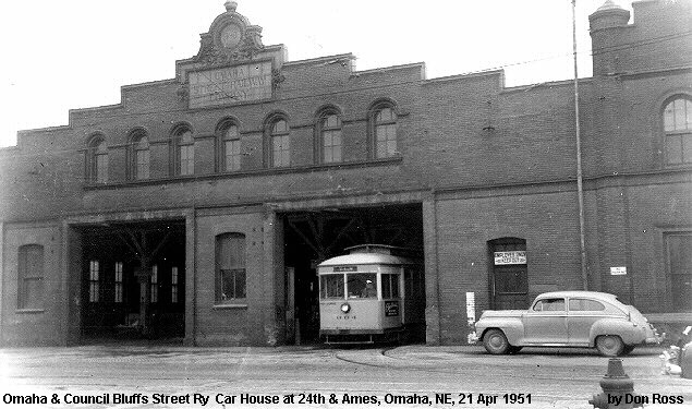 24th and Ames Streetcar Barn, North Omaha, Nebraska