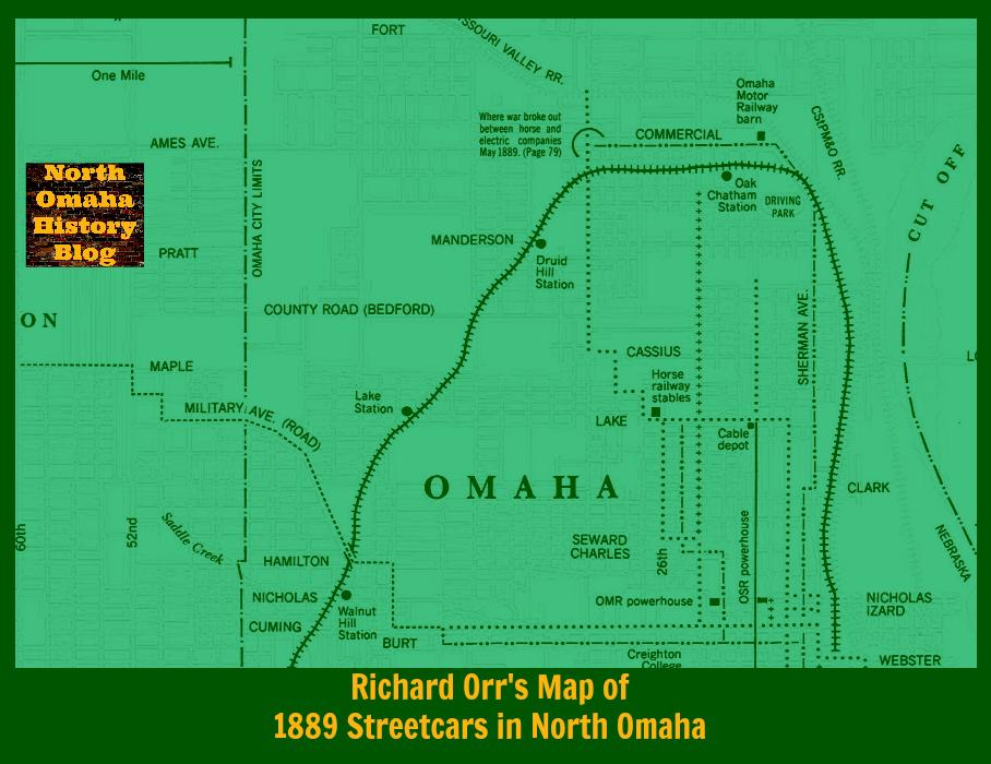 A History of Streetcars in North Omaha North Omaha History