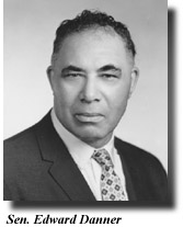 Edward Danner (1900-1970) of North Omaha served as a member of the Nebraska Legislature from 1963–1970.