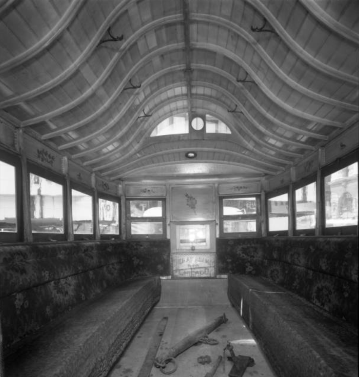 Streetcar Interior, North Omaha, Nebraska