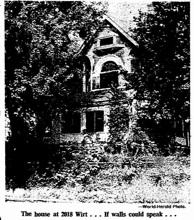 Anna Wilson's home at 2018 Wirt Street in North Omaha's Kountze Place neighborhood.
