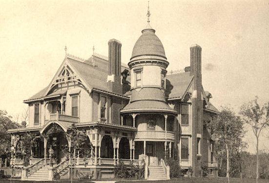 The Edward Nash Mansion was built in 1888 at 3806 Burt Street. It was demolished around 1920.