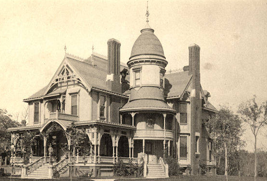 The Edward Nash Mansion was built in 1888 at 3806 Burt Street. It was demolished around 1920.