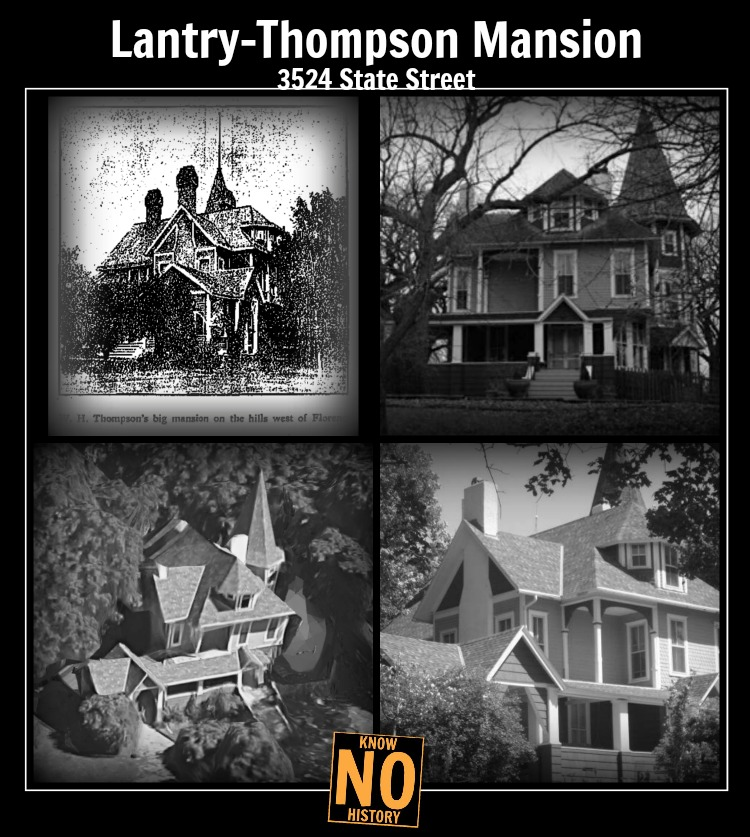 Lantry-Thompson Mansion, 3524 State St., North Omaha, Nebraska