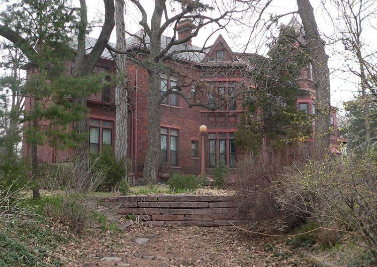 The Mercer Mansion in North Omaha, Nebraska.