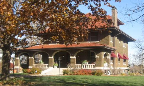 Brenner Mansion, 6141 Florence Boulevard, Miller Park neighborhood, North Omaha, Nebraska
