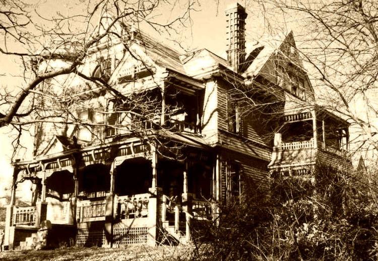 Zabriskie Mansion at 3524 Hawthorne Avenue in the Bemis Park neighborhood of North Omaha, Nebraska.