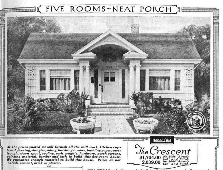 This is the Crescent, an Honor Bilt design from the 1920s.