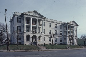 The Sherman is the oldest apartment building in Omaha and has been in continuous use since 1897.