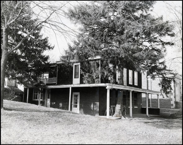 1936 pic of James Mitchell House 8314 N 31st St Omaha Nebraska