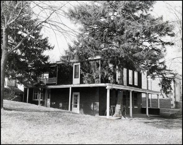 1936 pic of James Mitchell House 8314 N 31st St Omaha Nebraska