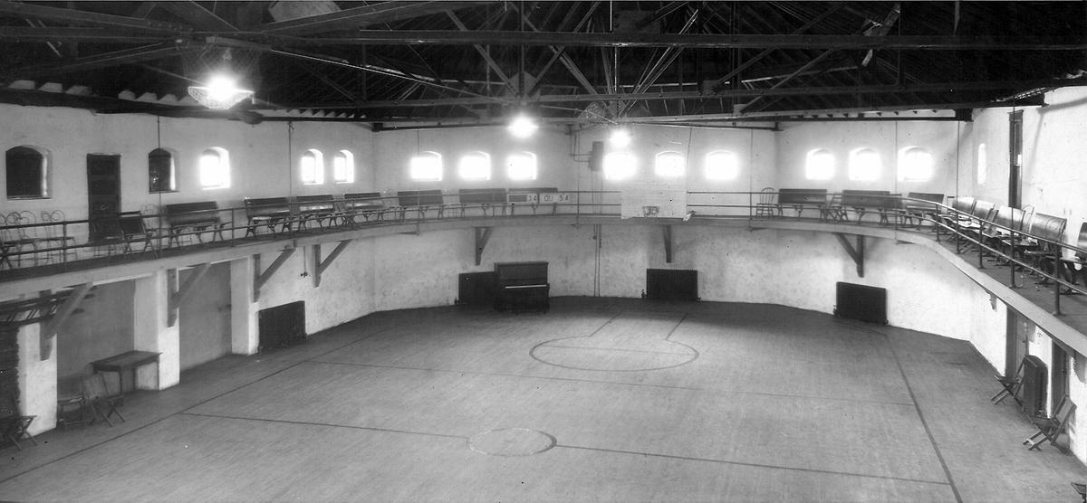 Jacobs Gym, University of Omaha, North 24th and Evans Street, North Omaha, Nebraska